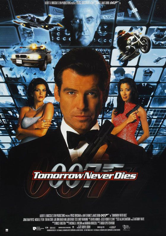 James Bond 007 Tomorrow Never Dies Poster