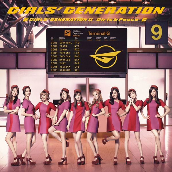 [Album] Girls' Generation - GIRLS' GENERATION II ~Girls & Peace~ [Japanese]