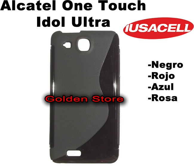Alcatel one touch idol ultra 6033 funda silicon hibrido slim en mercado libre - Fundas alcatel one touch idol ...